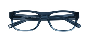 Warby Parker Roosevelt Blue Slate Fade, Photo Courtesy of Warby Parker
