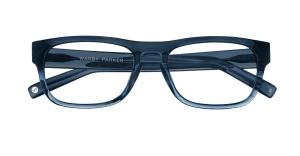 Warby Parker Roosevelt Blue Slate Fade, Photo Courtesy of Warby Parker