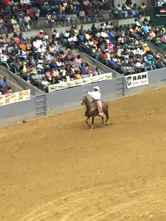 Cowboy participating in Mississippi Black Rodeo. Photo Courtesy of Tamoria Harvey