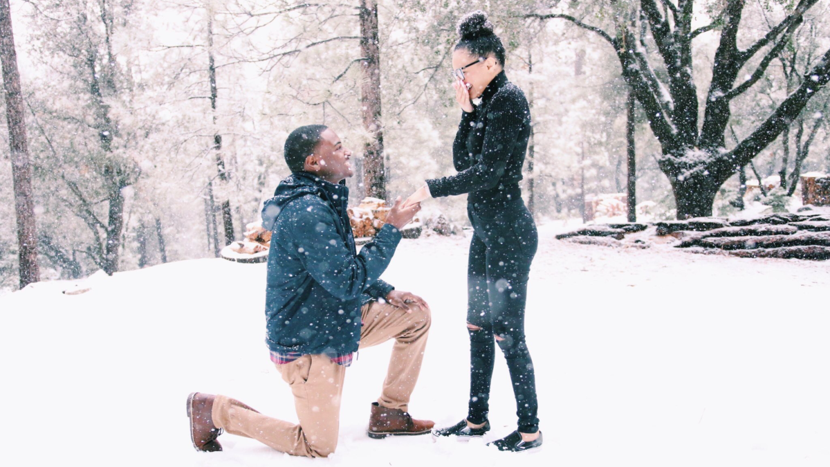 An Engagement to Remember: Congratulations Kaelin and Kyrah!