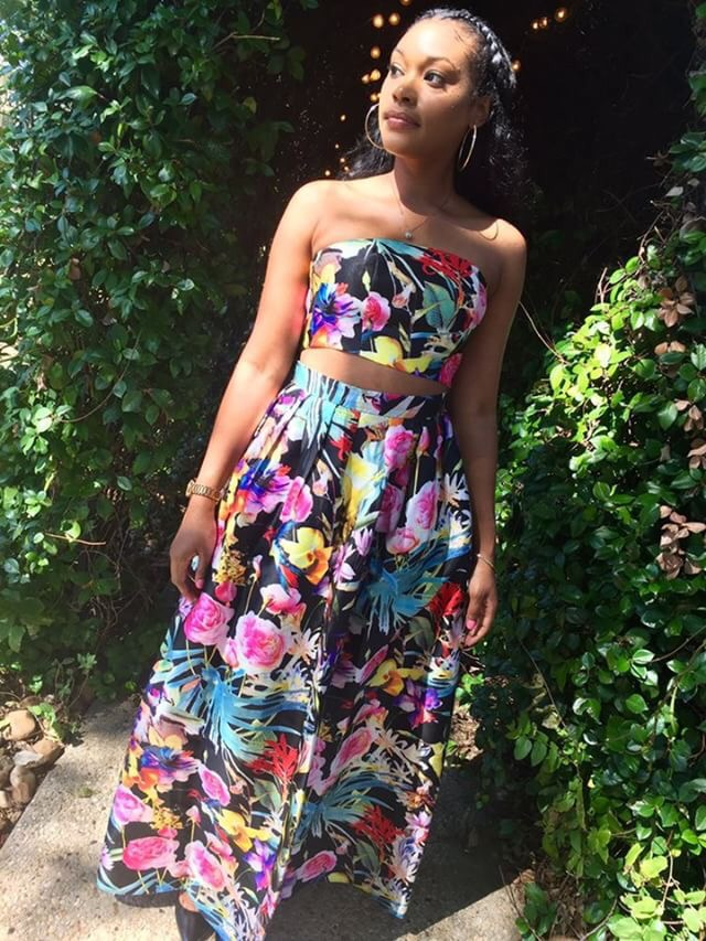 Summer Outfit Of The Day Tropical Love Two Piece Set   Personal Shopper And Fashion Stylist Yo ...