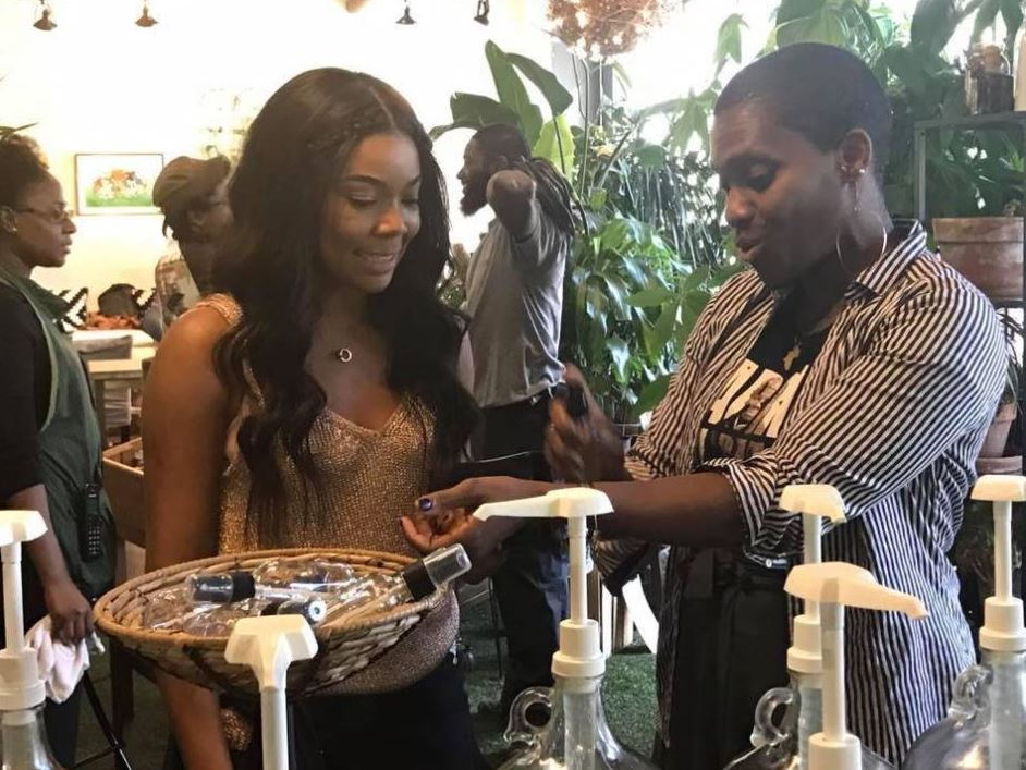 2- Gabrielle Union at iWi Fresh - Fall 2016 - Courtesy of iWi Fresh