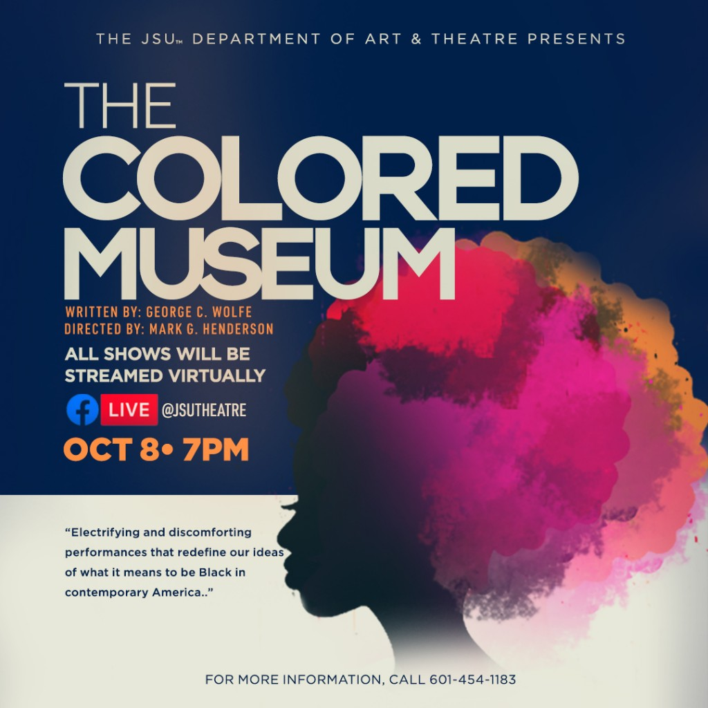 """COLORED MUSEUM: """"Colored Museum"""" is an """"electrifying and discomforting"""" performance that redefines the ideas of what it means to be black in contemporary America."""